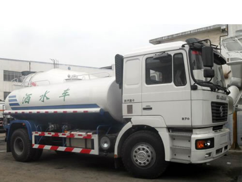 SHACMAN F2000 4×2 Water Truck